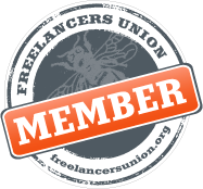 Freelancers Union Member Badge
